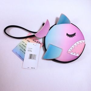 Betsey Johnson Ombre Shark Wristlet